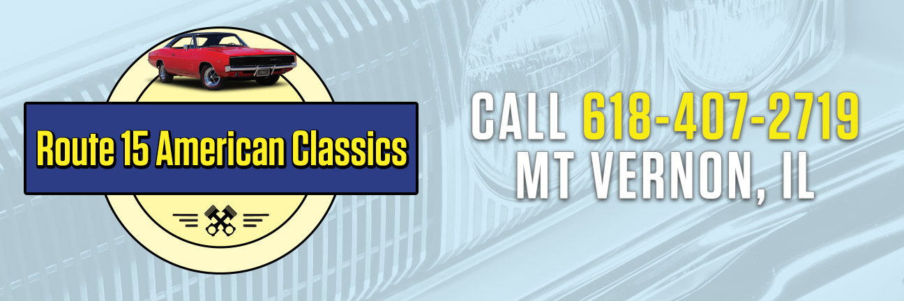 Route 15 American Classics contact banner